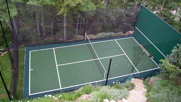Tennis Court / Shuffleboard - California Surfacing